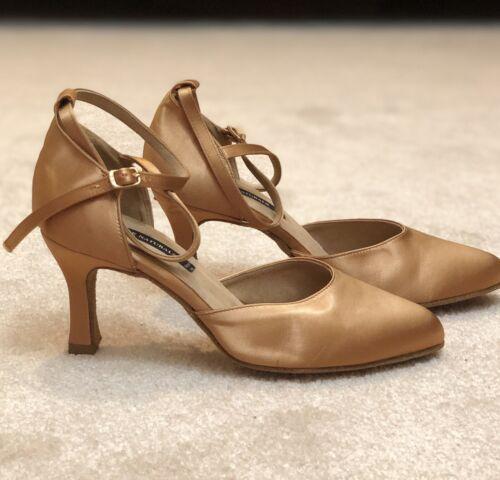 Dance Naturals Art. 635 Ballroom Dance Shoes Bronz