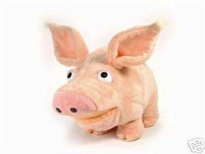 "NEW OTIS the PIG Piglet 9"" Tall -  Ultra Soft Plush Stuffed Animal Toy - bagged"