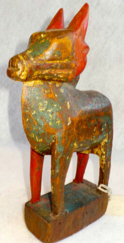 ANTIQUE WOODEN TOY HORSE 1850 FROM THAILAND