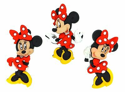 Jesse James Dress It Up Buttons ~ LICENSED - DISNEY MINNIE MOUSE 7717~ Crafts