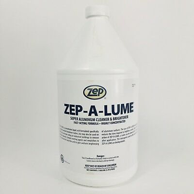 106324 Aluminun Cleaner And Brightener Highly Concentrate, Fast-acting Formula Acquista One Give One