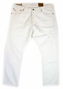 bbe3fcdc Details about Polo Ralph Lauran Men's The Varick Slim 625 Straight Fit  Hudson White Jeans $98
