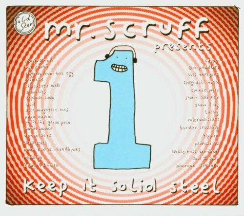 Mr. Scruff – Keep It Solid Steel / Ninja Tune CD 2004 – ZEN CD84 Neu