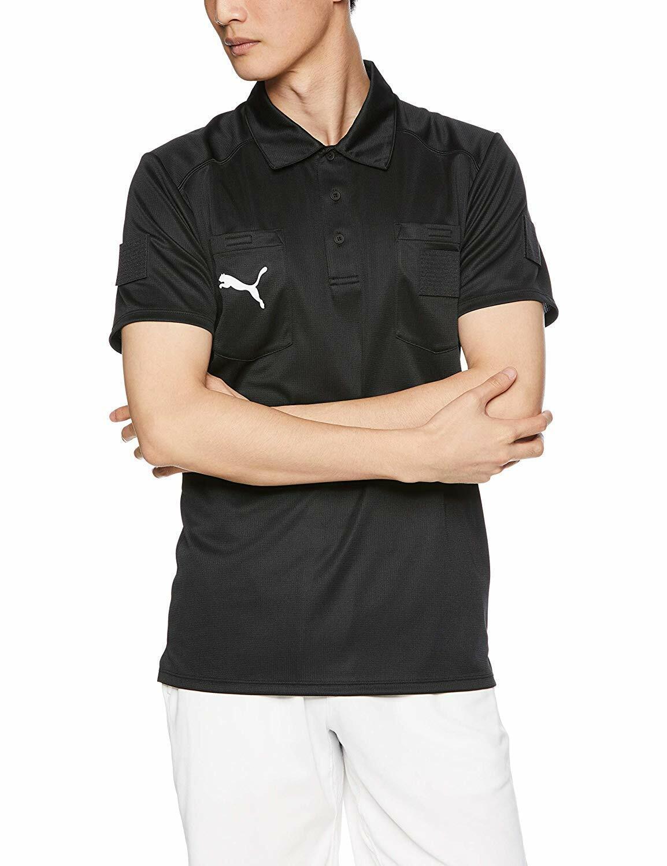 Puma Japón Fútbol Árbitro Jersey T-Shirt Negro 656328