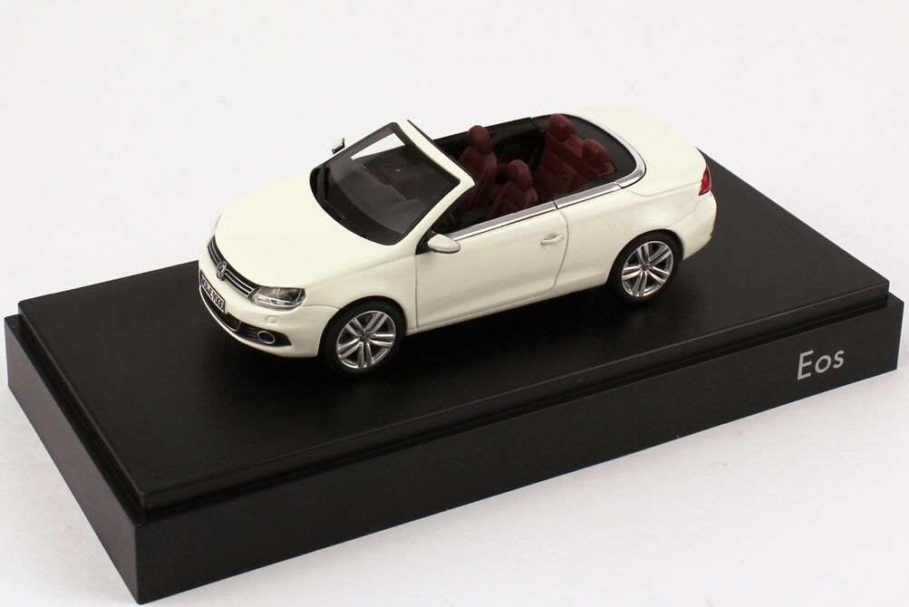 VW EOS II SPORT TSI TDI 2012 FACELIFT CANDY WHITE 1 43 KYOSHO (DEALER MODEL)
