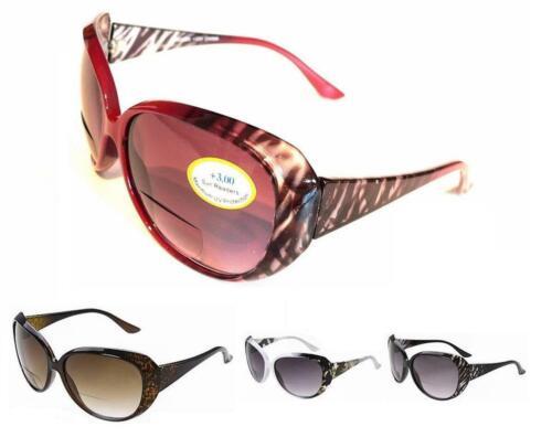 Lunettes de Soleil Bifocal Femmes élégant PR19 UV400 Complet Protection Plus Pochette /& Cloth