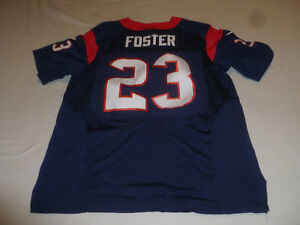 825bae70a51 ARIAN FOSTER HOUSTON TEXANS #23 JERSEY SIZE LARGE 48 FOOTBALL ON ...