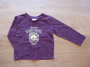 schoenes-Langarm-Shirt-SQUAD-Spruch-Gr-98-104-wein-rot-Pulli-Sweatshirt-Weste