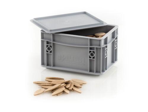 250 Stk Buche // Lamello Gr 10 in Box Verbindungspl // Flachdübel // Holzverb