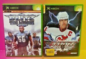 NHL-Hitz-20-02-Hockey-Blitz-The-League-Microsoft-Xbox-OG-Game-Rare-Tested