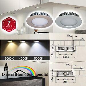 Loox-LED-2020-Downlight-65mm-12V-Matt-Nickel-Polished-Chrome-Light-Rated-IP44