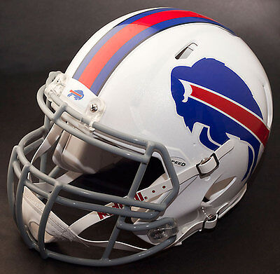 BUFFALO BILLS NFL Authentic GAMEDAY Football Helmet w/ S2BDC-SP Facemask