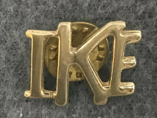 """EISENHOWER /""""IKE/"""" DWIGHT D 1952  REPUBLICAN PRESIDENTIAL CAMPAIGN LAPEL PIN"""