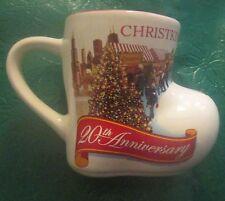 2015 Chicago IL CHRISTKINDLMARKET Ceramic Boot Mug Daley Plaza Collectible!