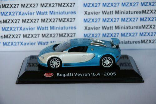 Auto Bugatti Veyron 16.4 2005 1//43 Salvat Supersportwagen sc10