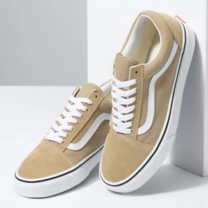 Vans-Brown-Old-Skool-Shoes-Unisex-Men-Size-10-5-US-Women-Size-12-0-US