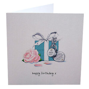 Details About Luxury Tiffany Co Jewellery Birthday Card Wife Girlfriend Mother Daughter