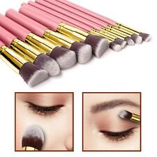 10pcs stile Kabuki Make Up Brush Set Cipria Fondazione Fard-Style 6