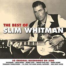 The Best of Slim Whitman [Not Now] by Slim Whitman (CD, Feb-2016, 2 Discs,...