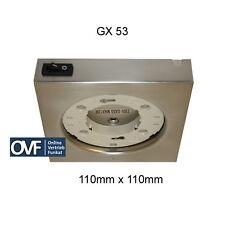GX 53 Aufbauleuchte 110mm Küchenschrank 230V Unterbaulampen GX53 Aufbaulampe