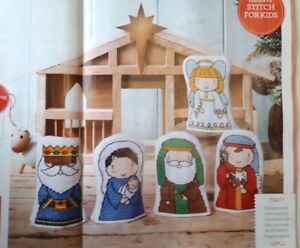A4-Christmas-cross-stitch-chart-Away-in-a-Manger-9-different-charts