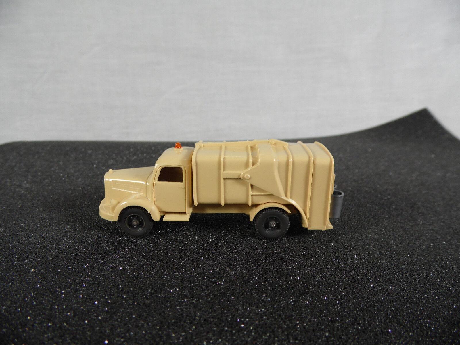 Sw1458, Wiking  Mercedes Müllwagen L 3500 1 87 Spur H0 643 7