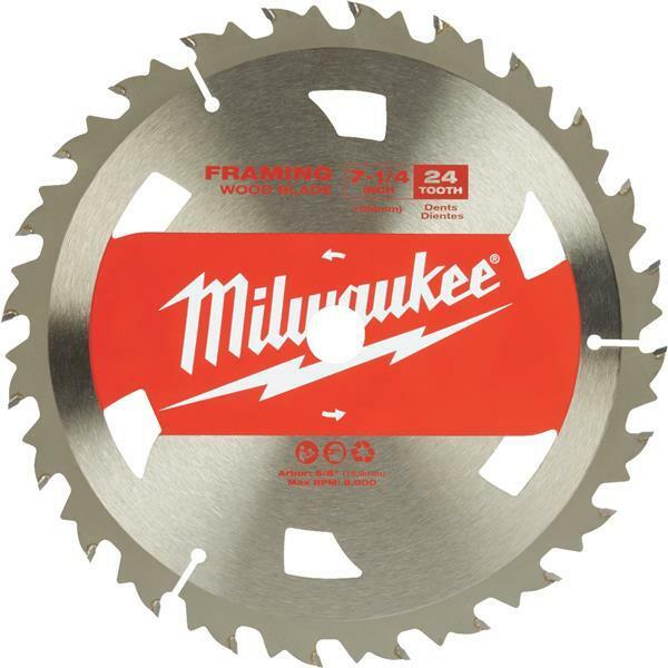 10 Pk Milwaukee 7-1/4