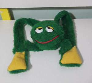 FROG-LONG-LEGS-VINTAGE-GREEN-TOY-SOFT-TOY-PLUSH-TOY-49CM-LONG