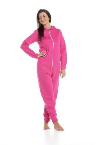Mujer Mono 1 Mono De Una Pieza Pijama Ropa para dormir con capucha tamaños de lote de conjunto de pista