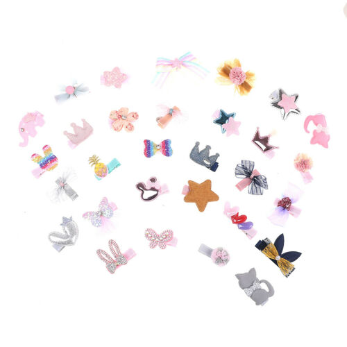 5Pcs//set kids baby girls cute cartoon hair clips hairpins hair accessories YT