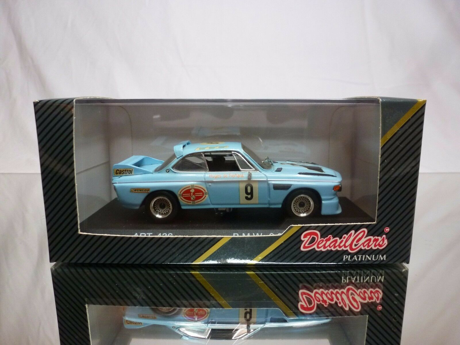 DETAIL CARS 436 BMW 3.0 CS 1977  - PALE blueeE  1 43 - GOOD CONDITION IN BOX