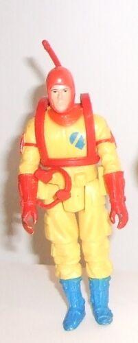 1982 action gi joe chiffres palitoy Q Force Aqua Trooper sonar officier Defender
