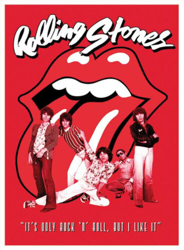 Official Rolling Stones It/'s Only Rock And Roll Maxi Poster 91.5 x 61cm Aftermat