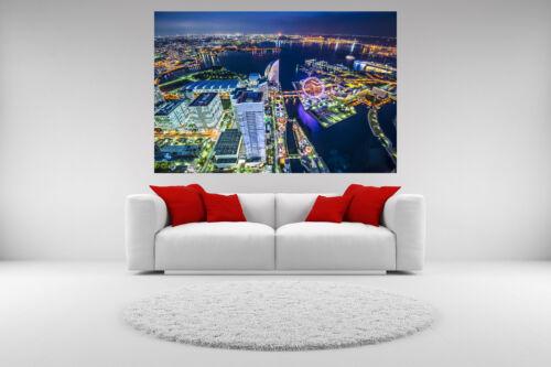 Tokyo Japan City Skyline Canvas Giclee Print Unframed Home Decor Wall Art
