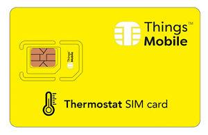 Agressif Sim Card Per Termostato Con Rete Multi-operatore. Credito Non Incluso