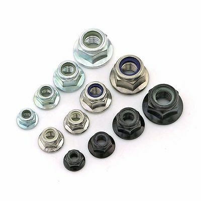 Nyloc // Nylon Lock Nut Assortment Locking Nuts 300 Pce Popular - Metric BZP