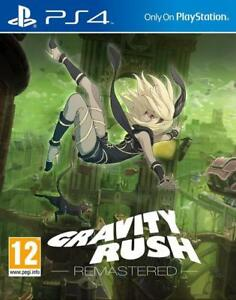 PS4 Gravity Rush Remastered Playstation 4 Game