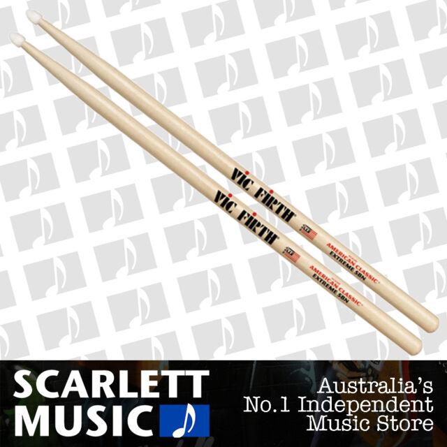 Vic Firth American Classic Extreme X5BN Nylon Tip Drumsticks ( 5B Drum Sticks )