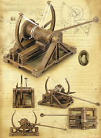 "Da Vinci Machine Series ""Catapult"" / Academy model kit"