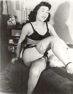 Original Vintage 1940s-60s Nude RP- Older Blond Woman