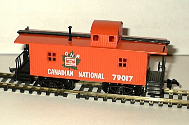 Model Power 32 Wood Caboose 1 87 Scale