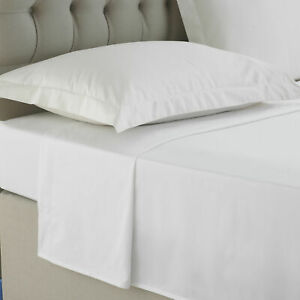 Grand-n-ud-100-Coton-Egyptien-2x-Oxford-Taie-d-039-oreiller-Paire