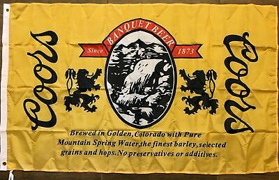 "Cold Beer Flag 3/' X 5/' Deluxe Indoor Outdoor Business Banner /""USA Seller/"""