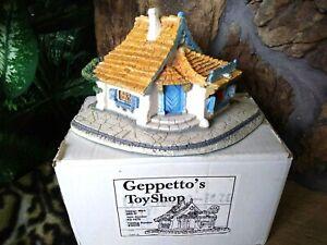 GOEBEL DISNEY GEPPETTO'S TOY SHOPPE BY OLSZEWSKI, From PINOCCHIO, Brand New, MIB