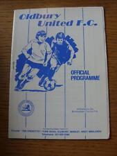 05/03/1988 Oldbury United v Hinkley Athletic  (No obvious faults)