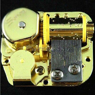 18 Note Mechanical DIY Windup Music Box Movement+Screws+Key Elfen Lied (Lilium)
