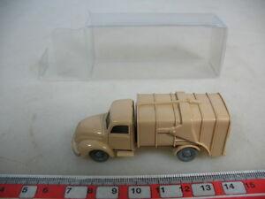 f275-0-5-WIKING-H0-Edad-Camion-de-basura-MAGIRUS-643-2-VIDRIADO