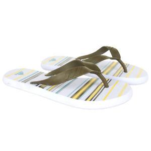 27b90f6aac6c2 ADIDAS Juuvi ST Womens Flip Flops for Beach Pool Casual Thongs For ...