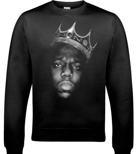 The Notorious B I G Biggie Pequeños Sudadera Big Hip-Hop Jersey Rap Hip Hop