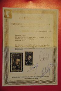 ESPANA-1953-ED-1124-25-LEGAZPI-Y-SOROLLA-CERTIFICADO-CEM-SERIE-COMPLETA